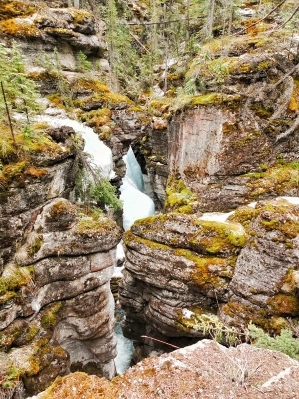 Maligne Canyon-The Hike