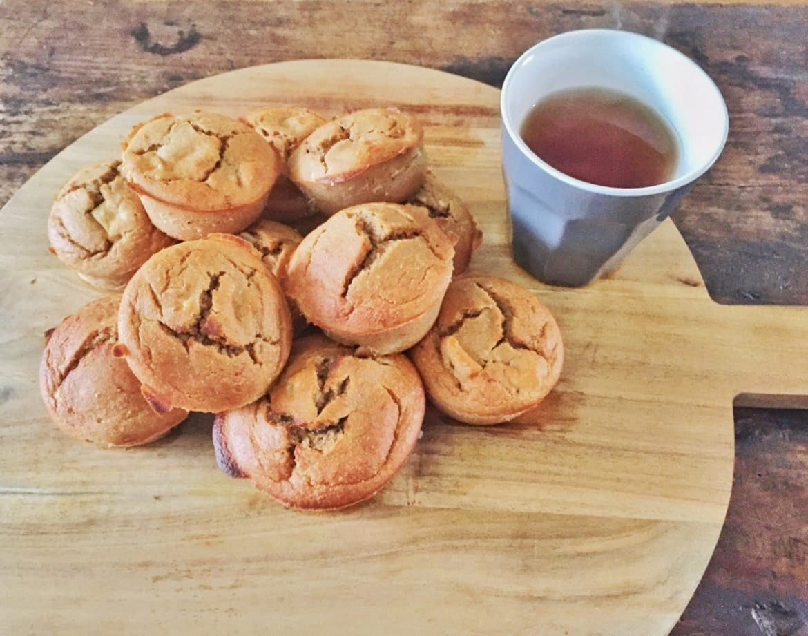 Muffins-met-appel-en-speculaas-The-Hike
