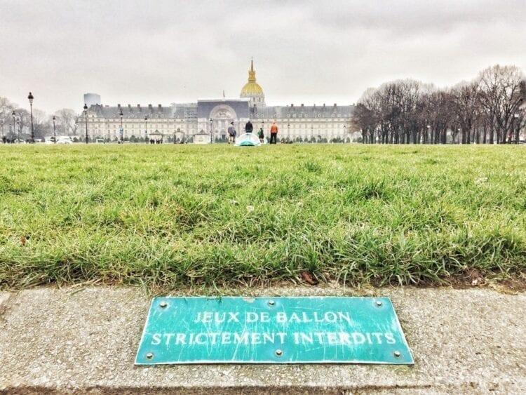 Urban hike in Parijs-The Hike