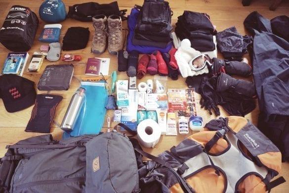 Kilimanjaro paklijst