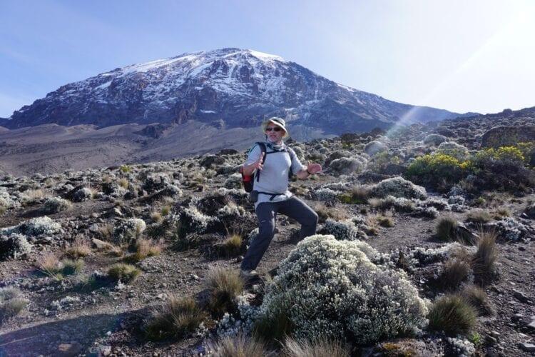 Trainen voor de Kilimanjaro