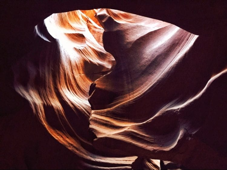 Antelope Canyon-The Hike