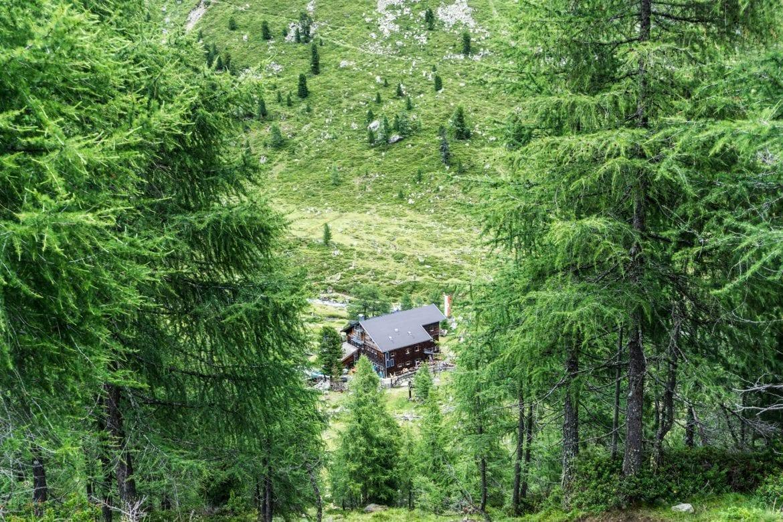 huttentocht in Debanttal