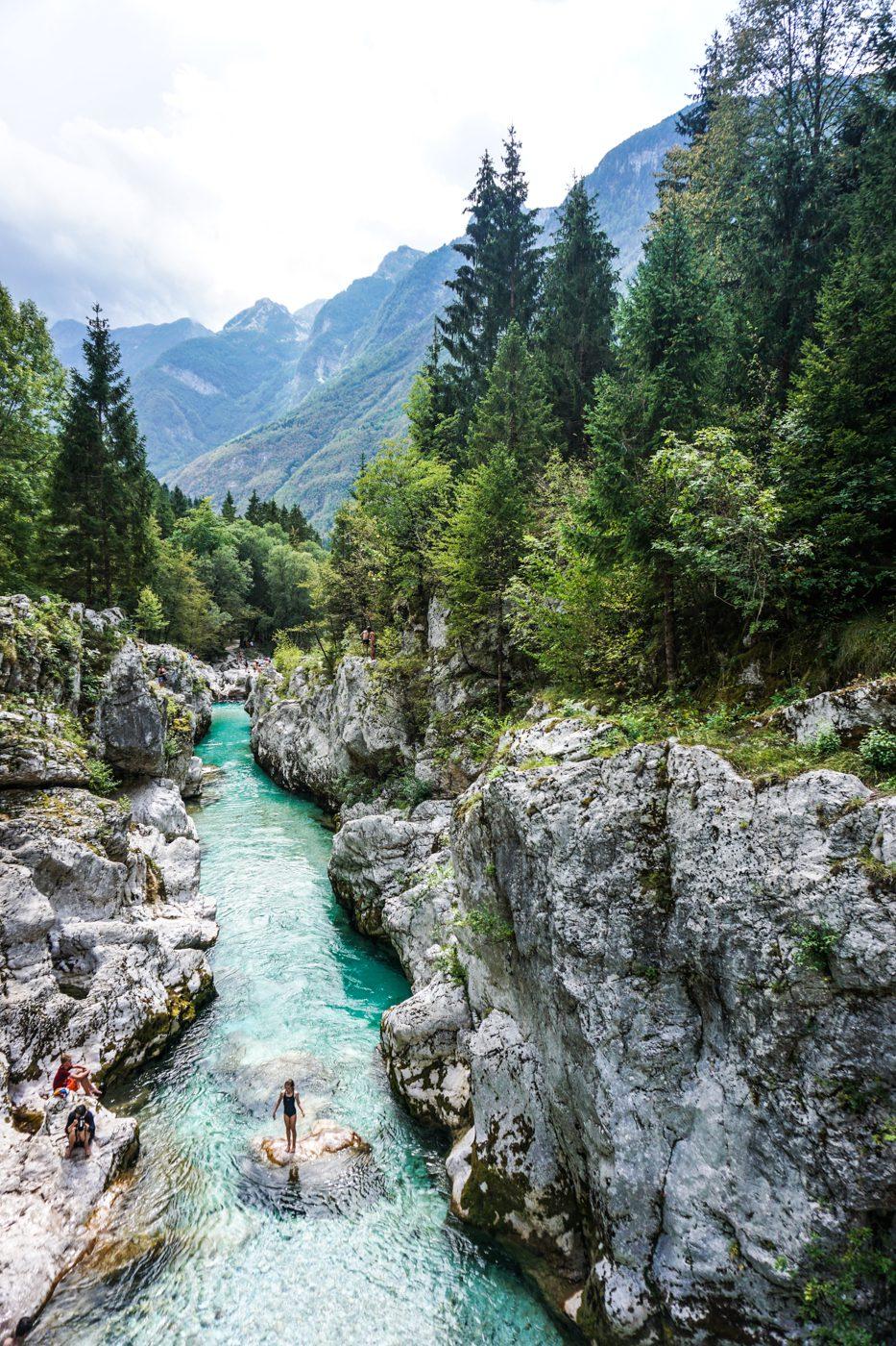 Soča - Mooie bestemmingen Europa