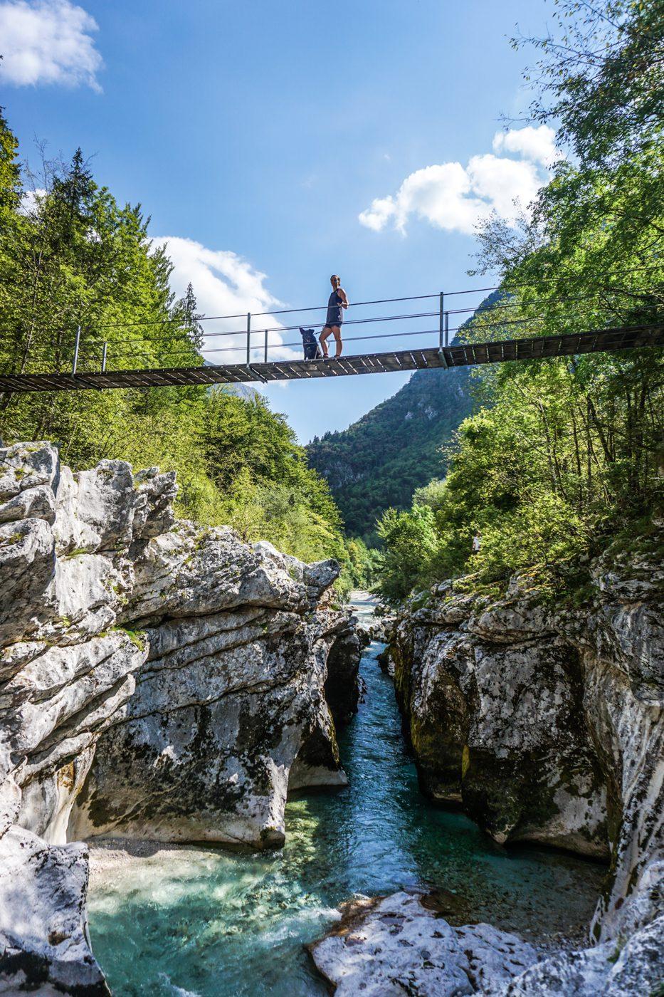 Soča trail - Slovenië