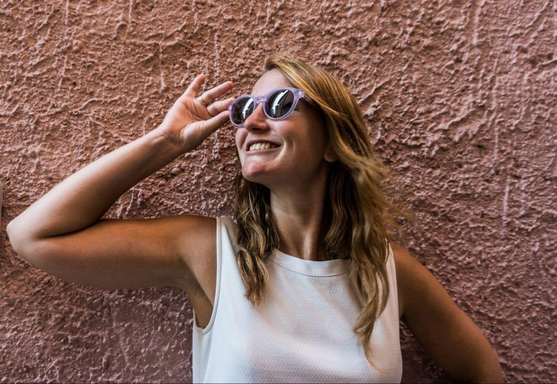 Kleurrijke zonnebrillen-Dick Moby-The Hike