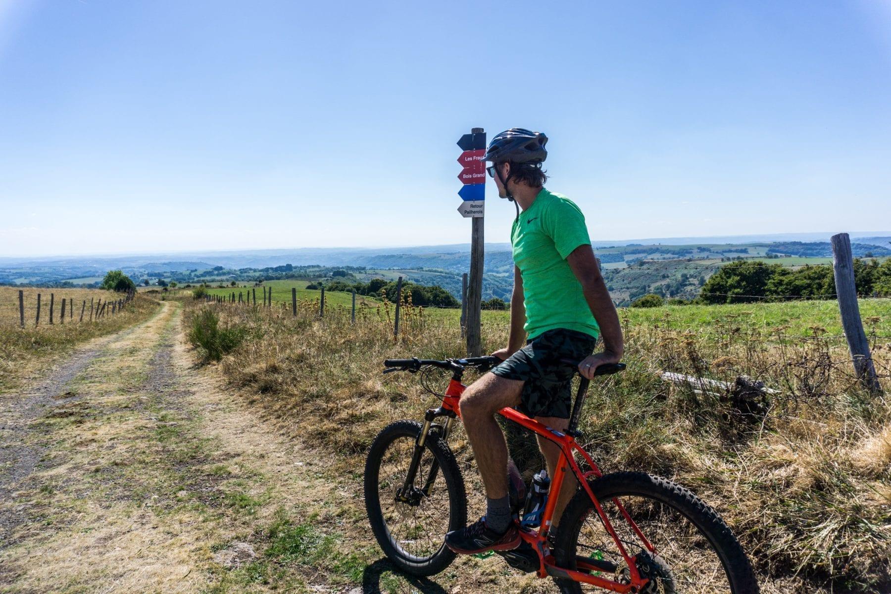 Cantal op de mountainbike 2