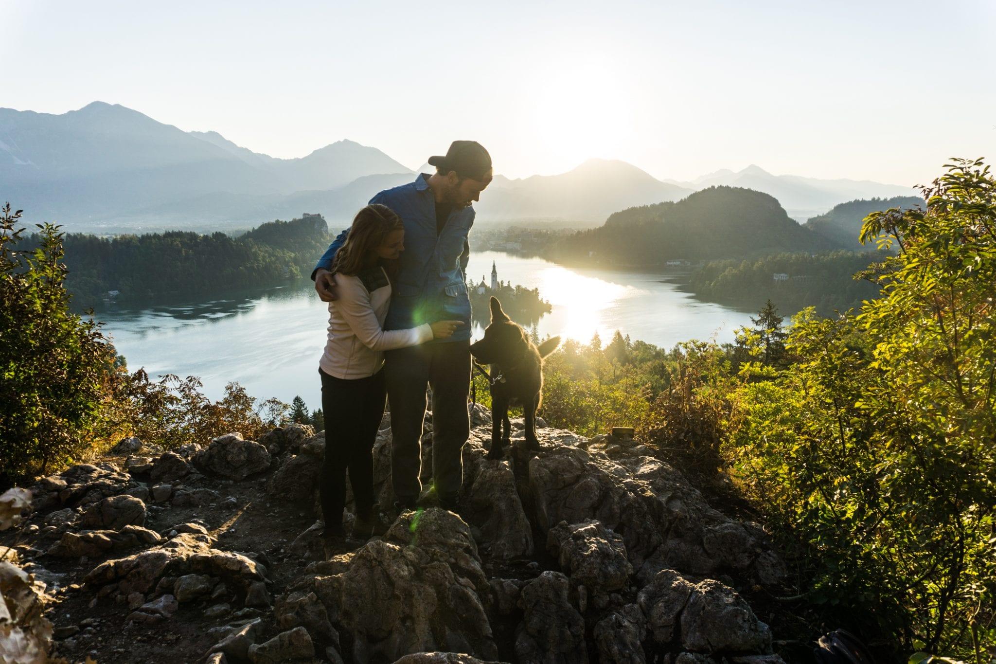 Hiken met hond