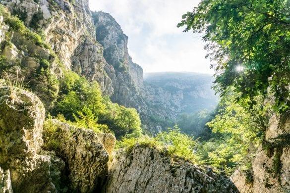 mooiste hike in Gorges du Verdon