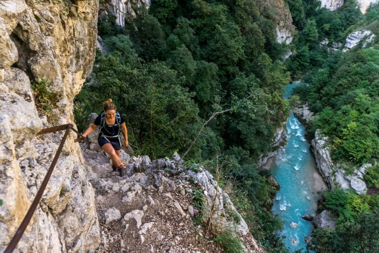mooiste hike in Gorges du Verdon