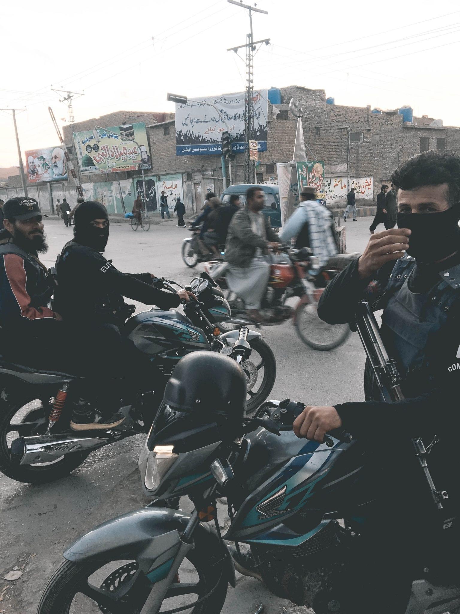 Pakistan op de motor