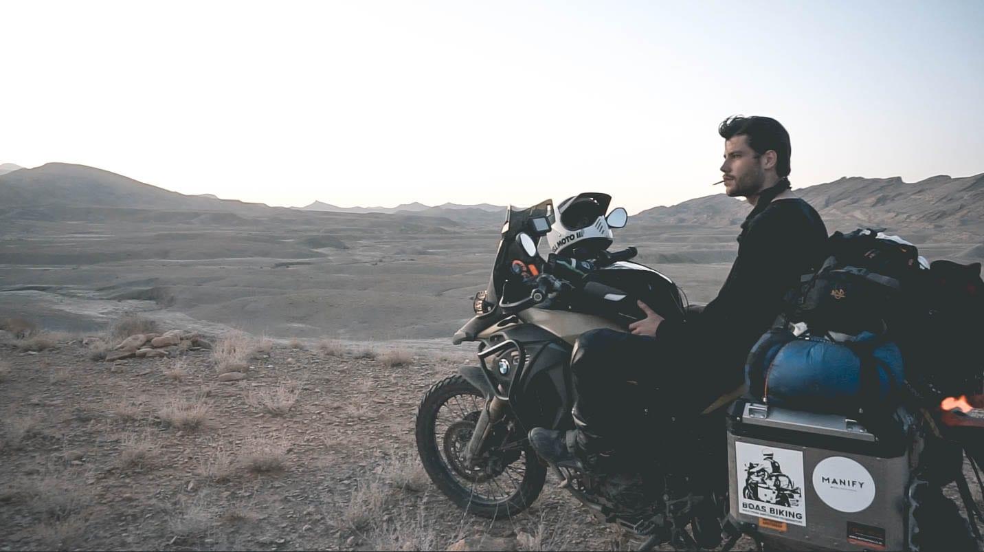 epische motorreis