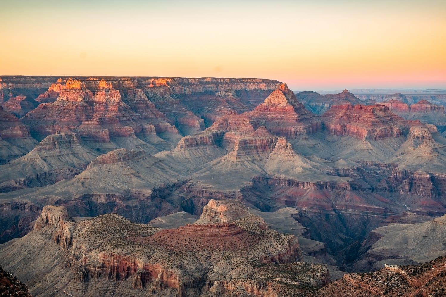 nationale parken in de buurt van Las Vegas Grand Canyon