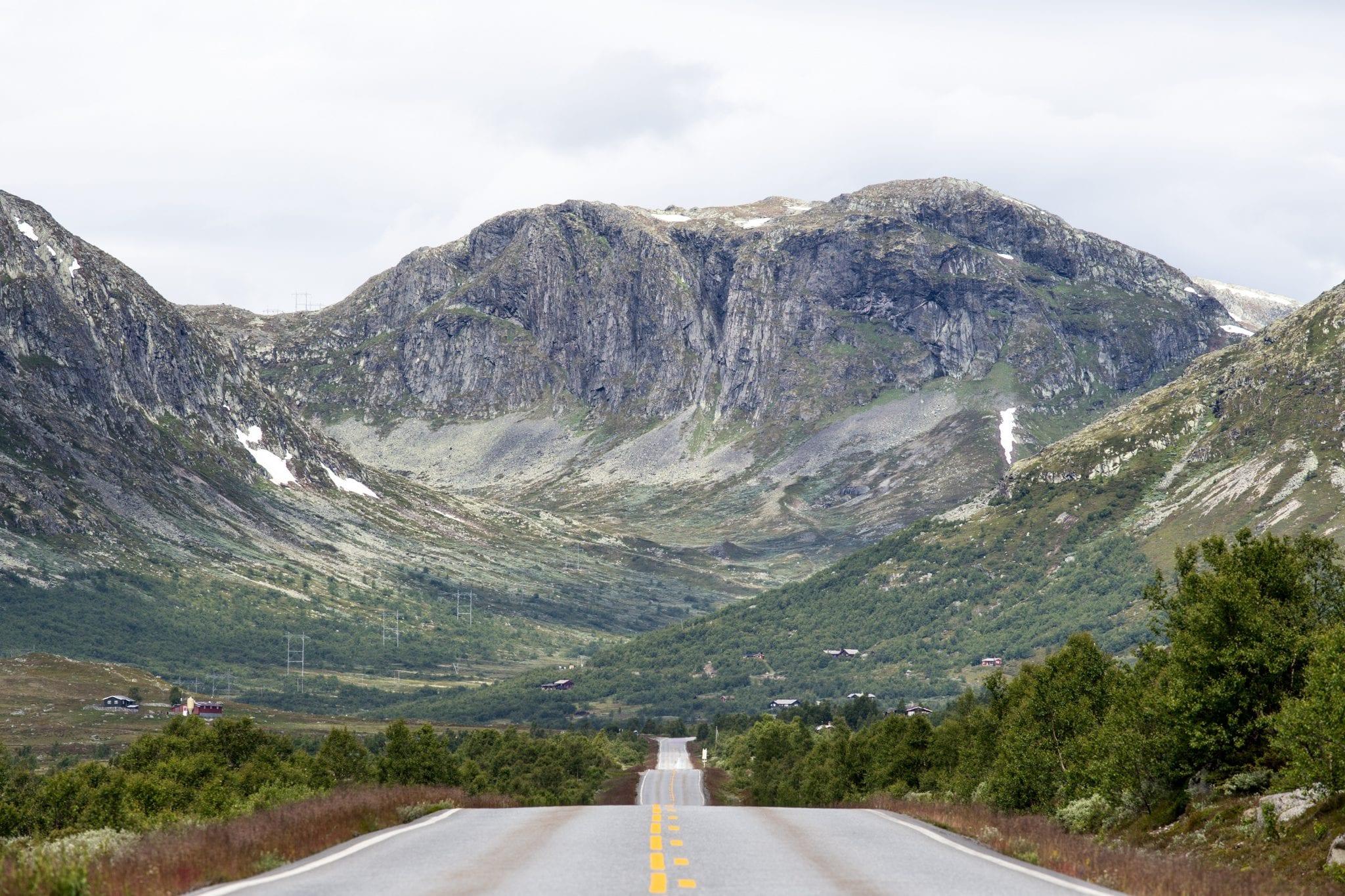 wandelgebieden van Noorwegen