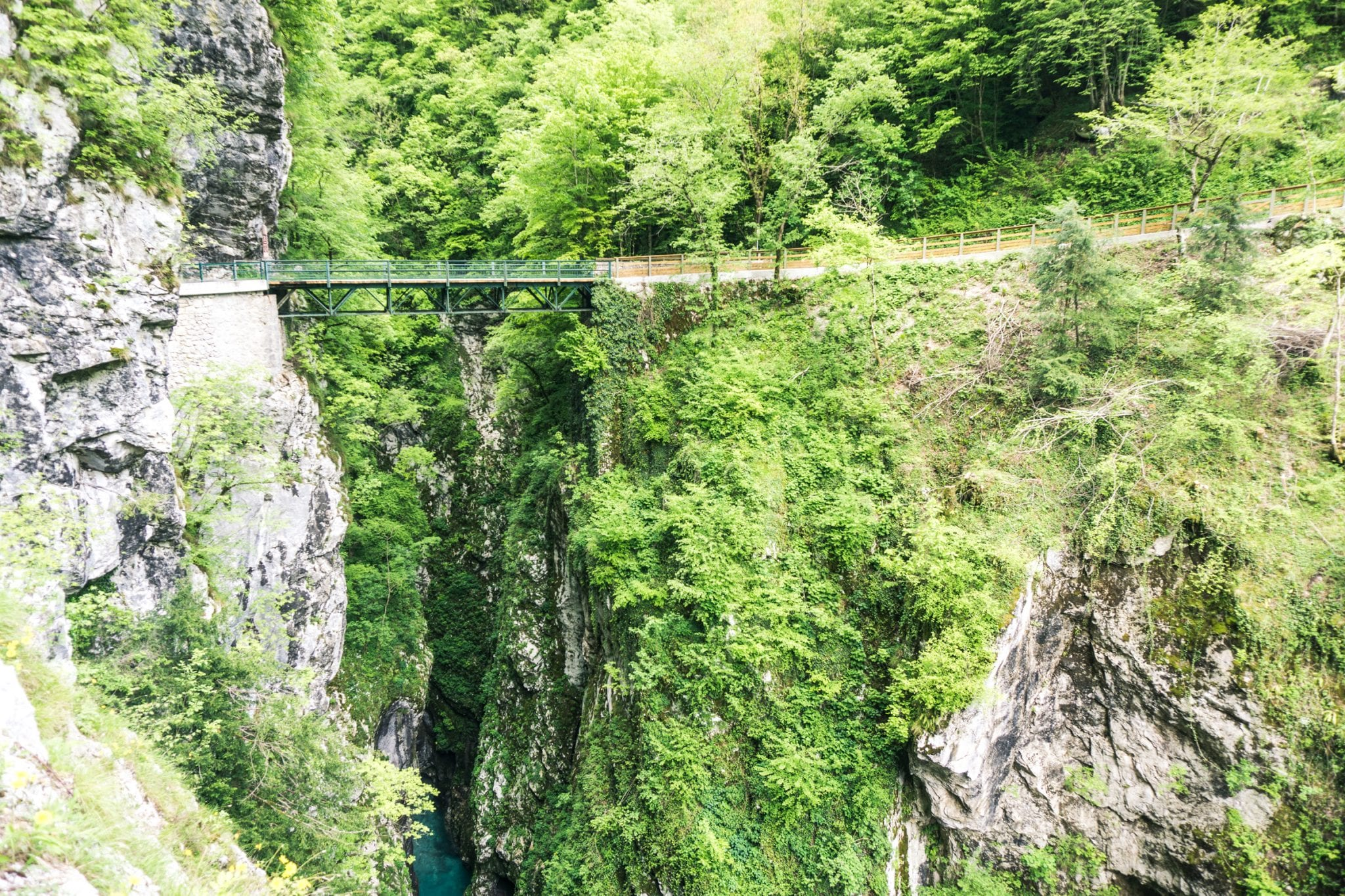 de mooiste gorges van Slovenië