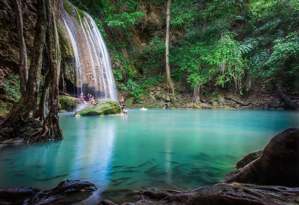watervalparadijs in Thailand