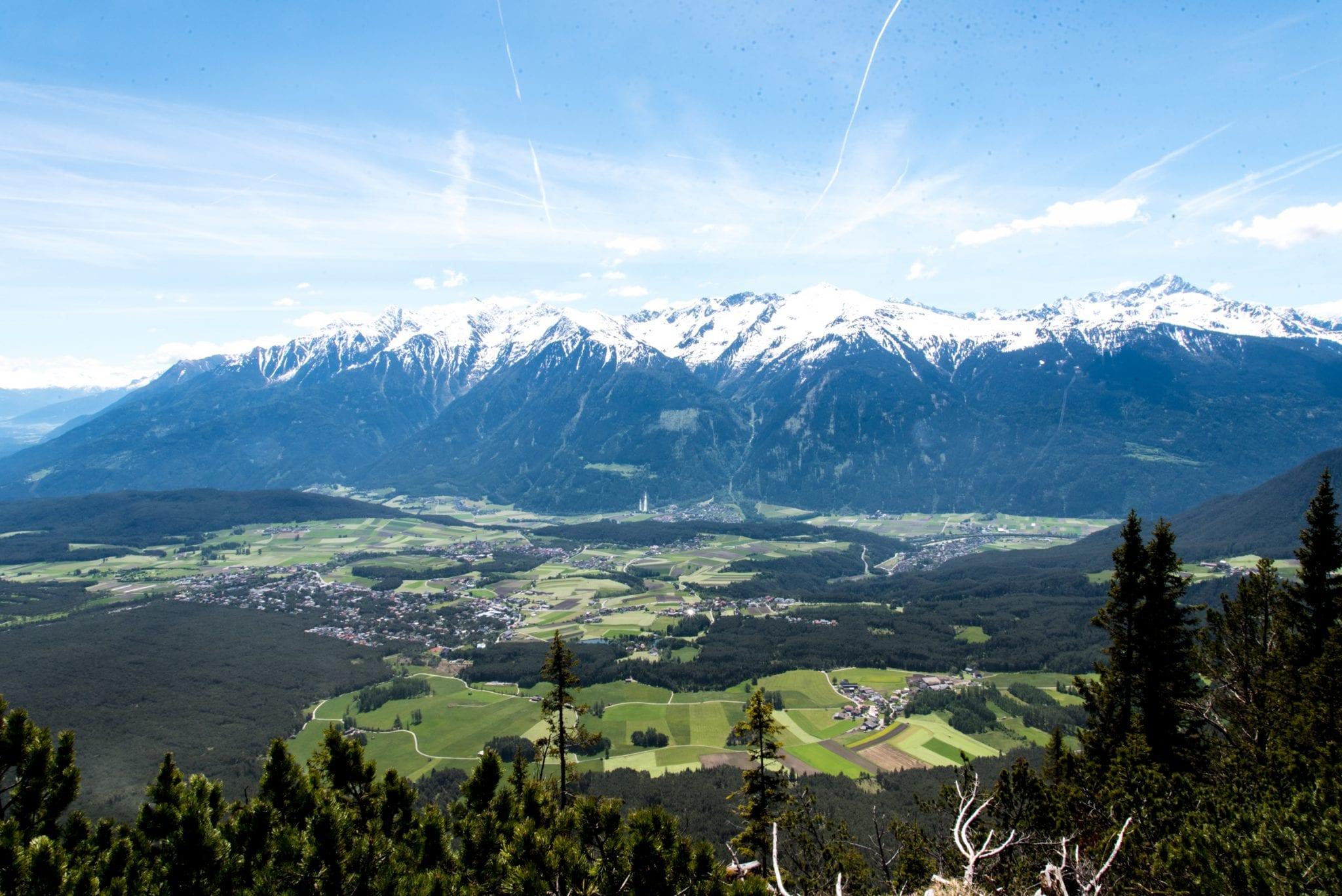 Innsbruck Trek view