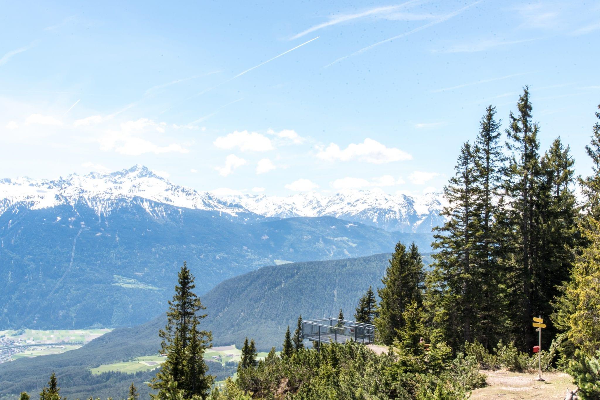 Obsteig Uitzichtpunt Innsbruck Trek