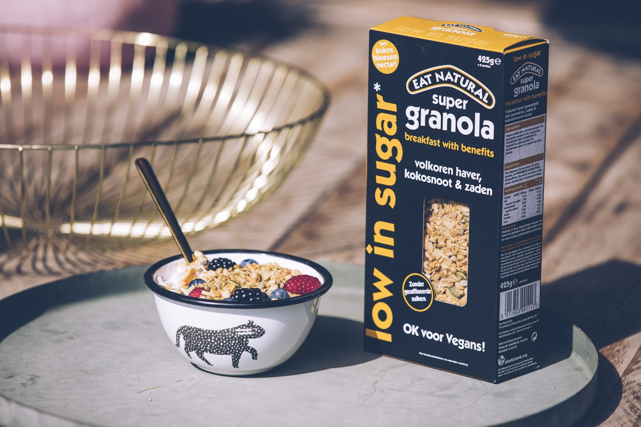 Eat Natural Low in Sugar Vegan Granola Pack