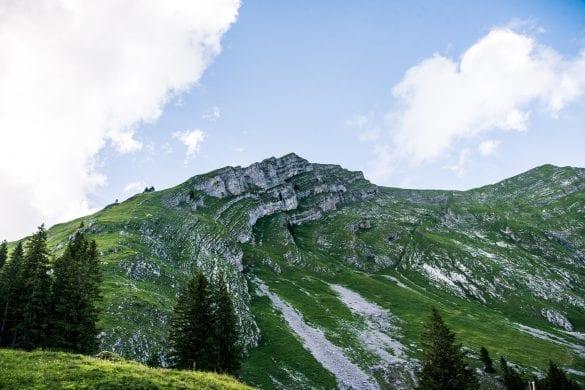Kanisfluh summit