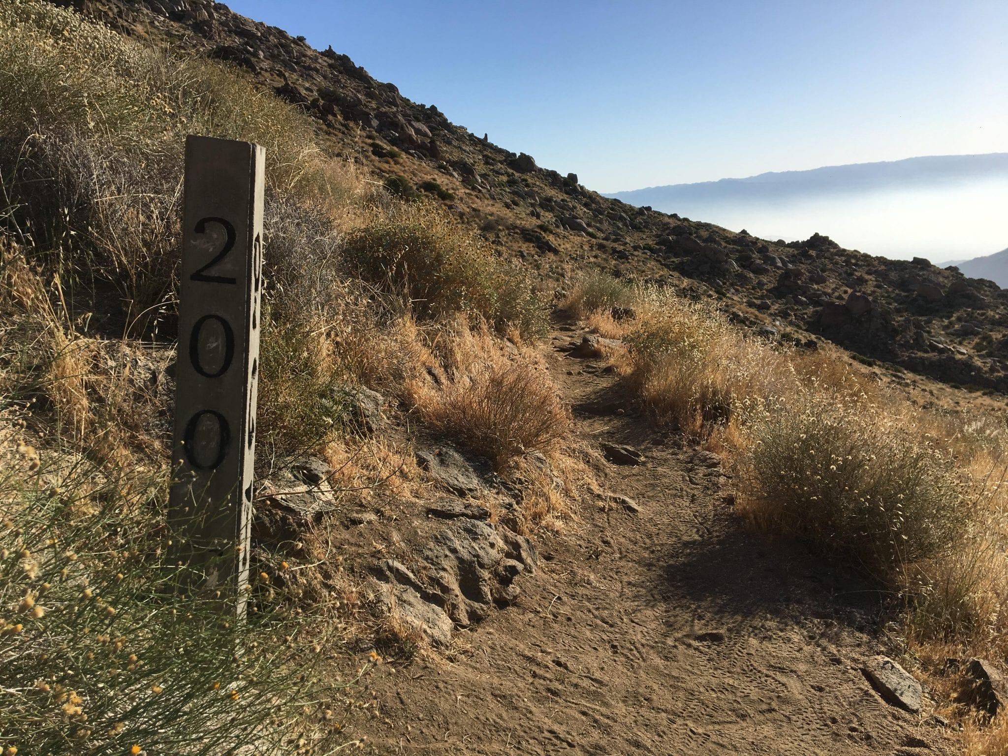 200 miles Pacific Crest Trail