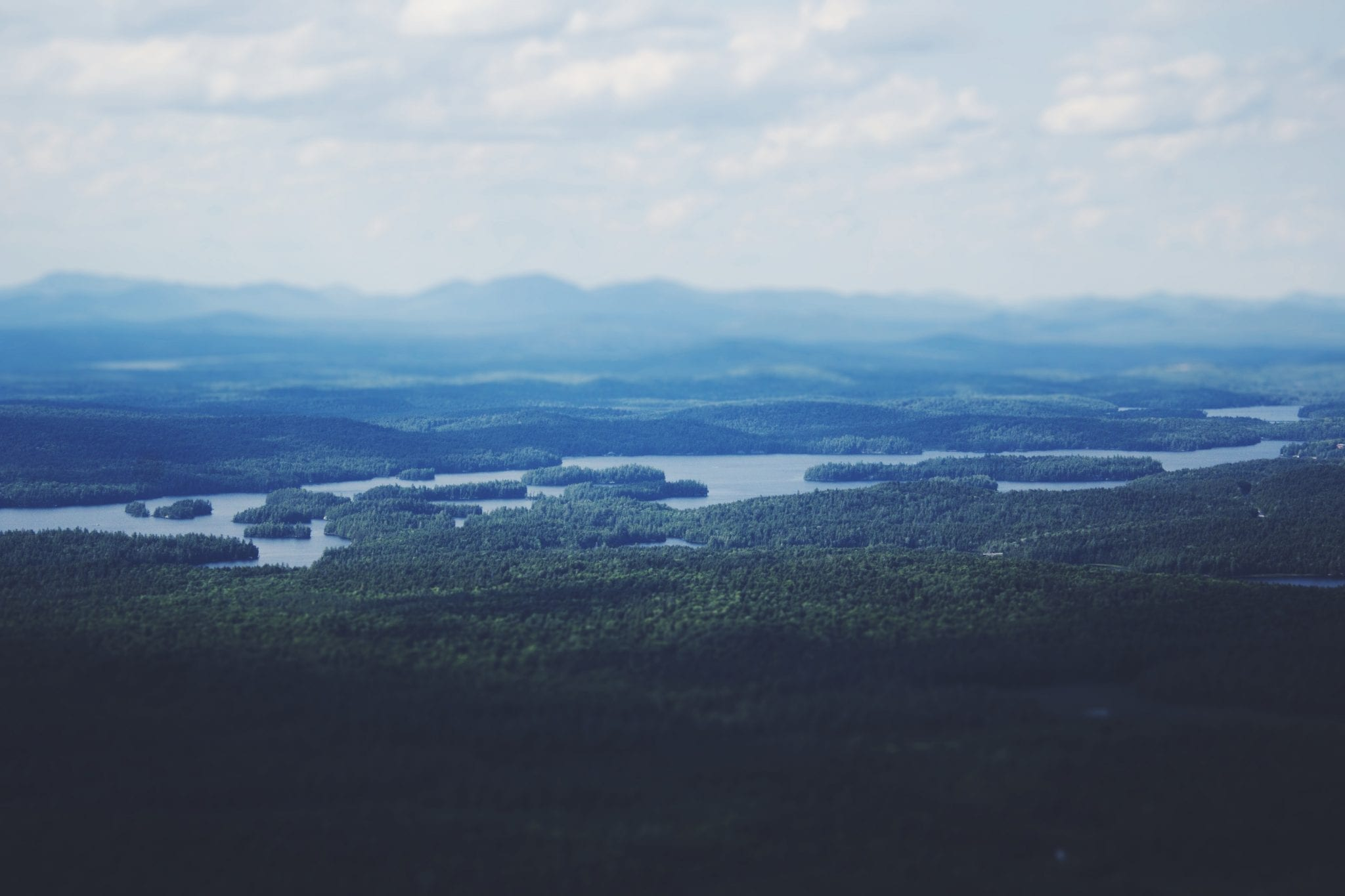 Hike in New York - Saranac Six