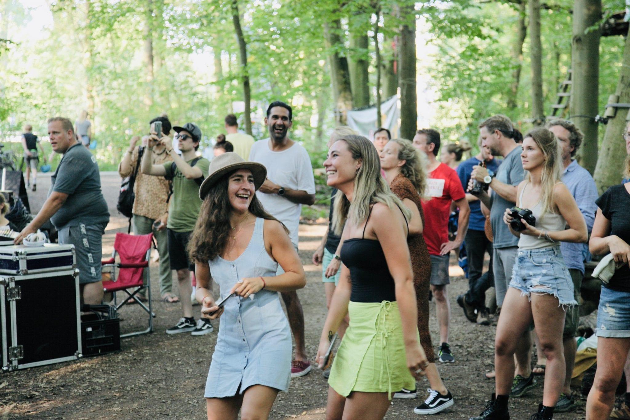 Bandjes in het Bos festival 2019 bezoekers