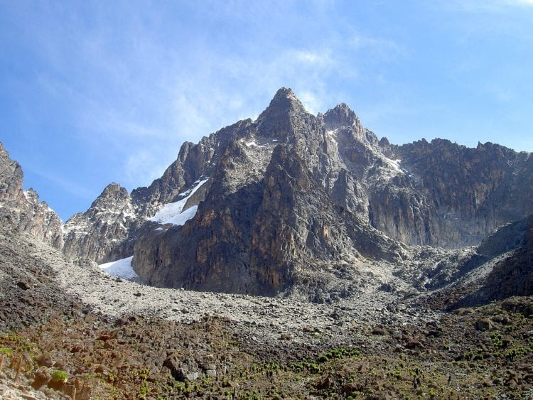 Seven Second Summits Mount Kenya