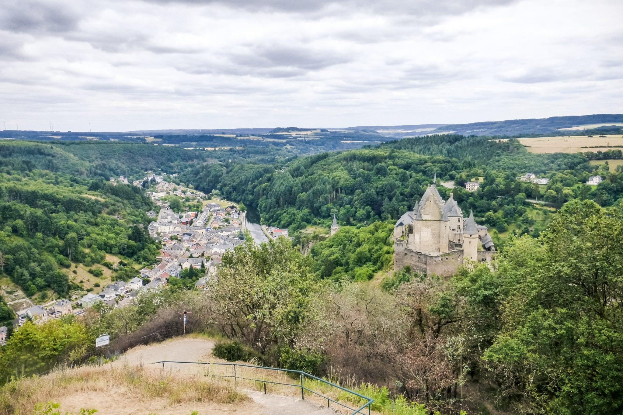 GR5-in-Luxemburg kasteel