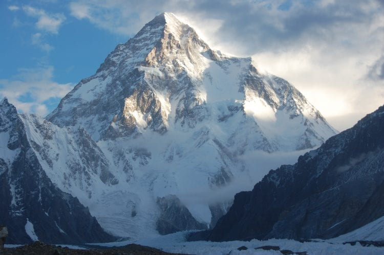 K2 - hoogste bergen ter wereld