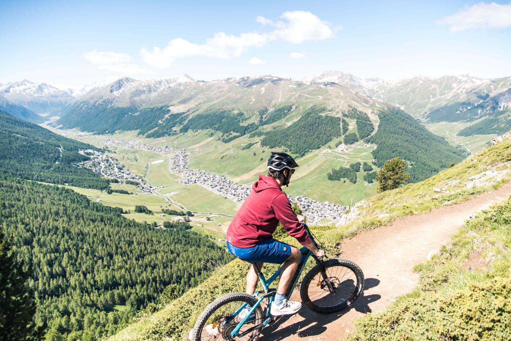 Mountainbiken-in-Livigno-uitzicht