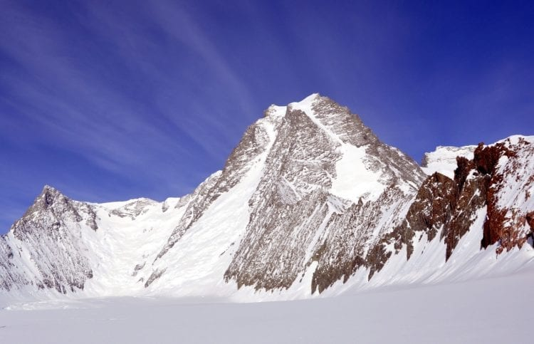 The seven second summits - Mount Tyree