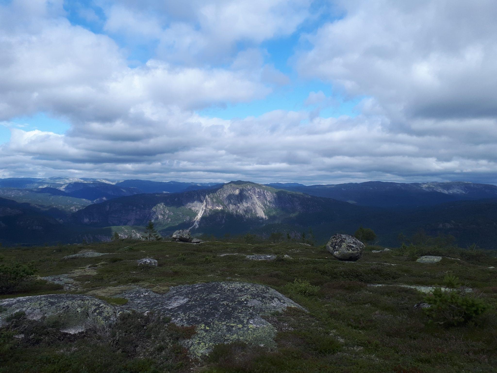 Hommefjellet Mountain Trail