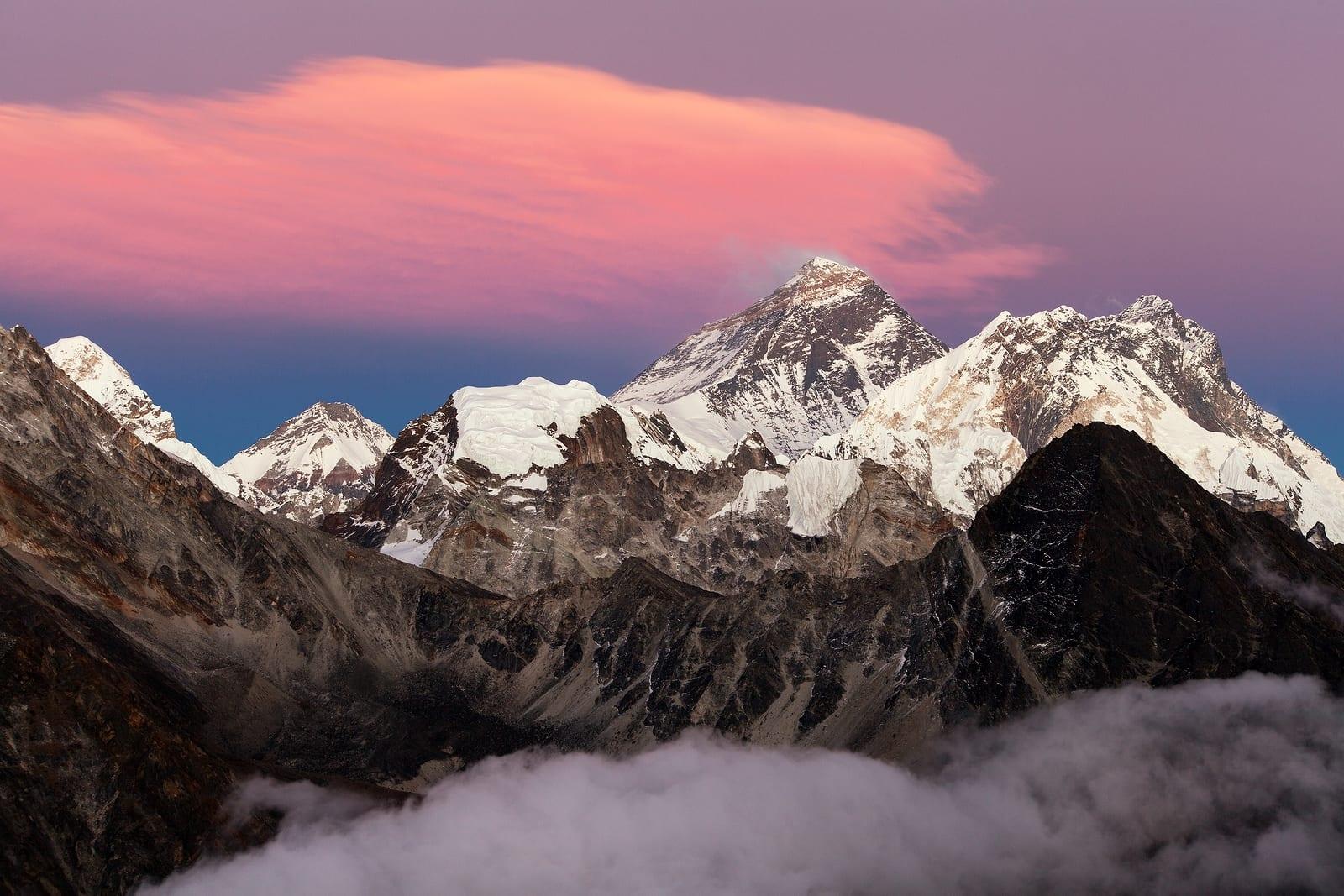 hoogste bergen ter wereld