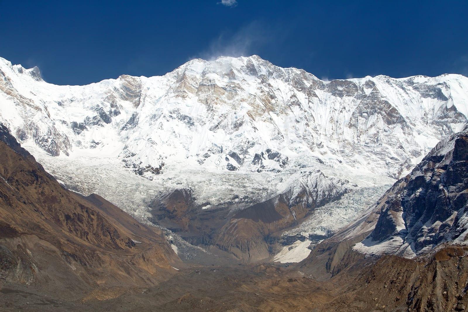 Annapurna - hoogste bergen ter wereld