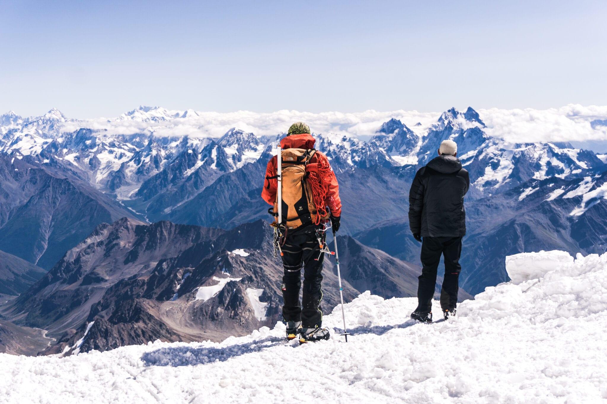 Elbrus paklijst tocht