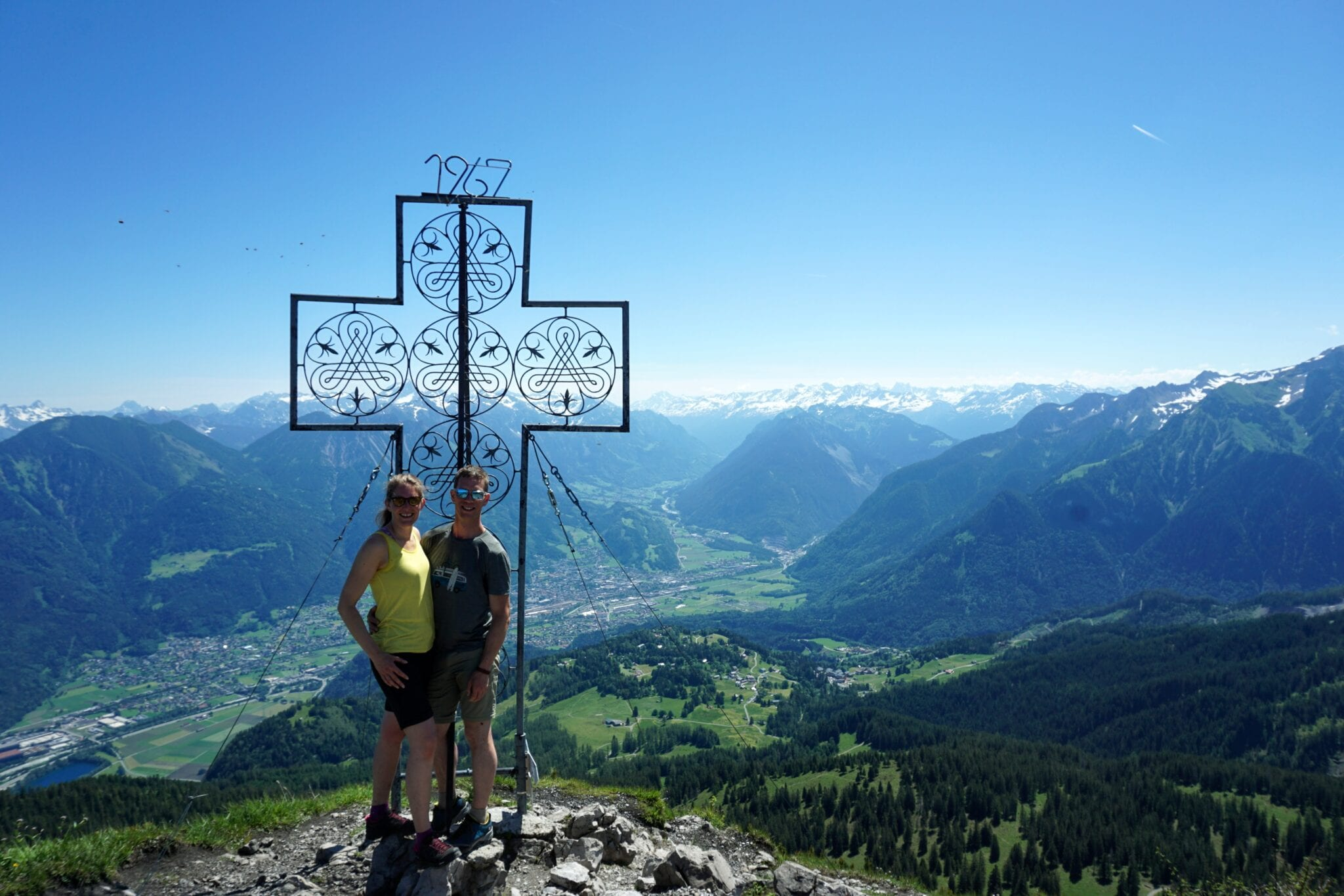 Mondspitze top kruis