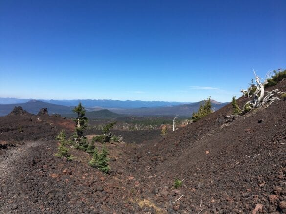 Three Sisters Wilderness PCT hike