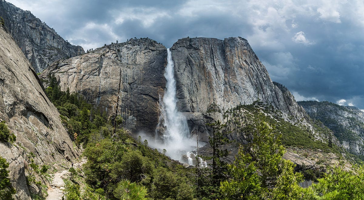 Mooiste watervallen ter wereld Yosemite Falls