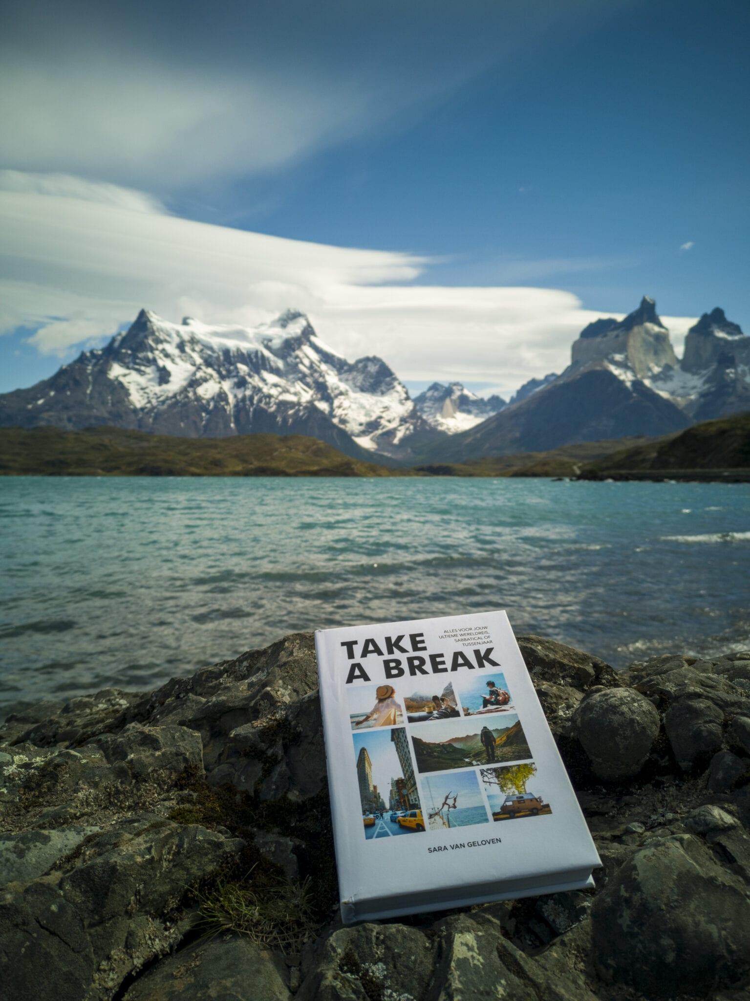 Sara van Geloven reisboek Take a Break Patagonie