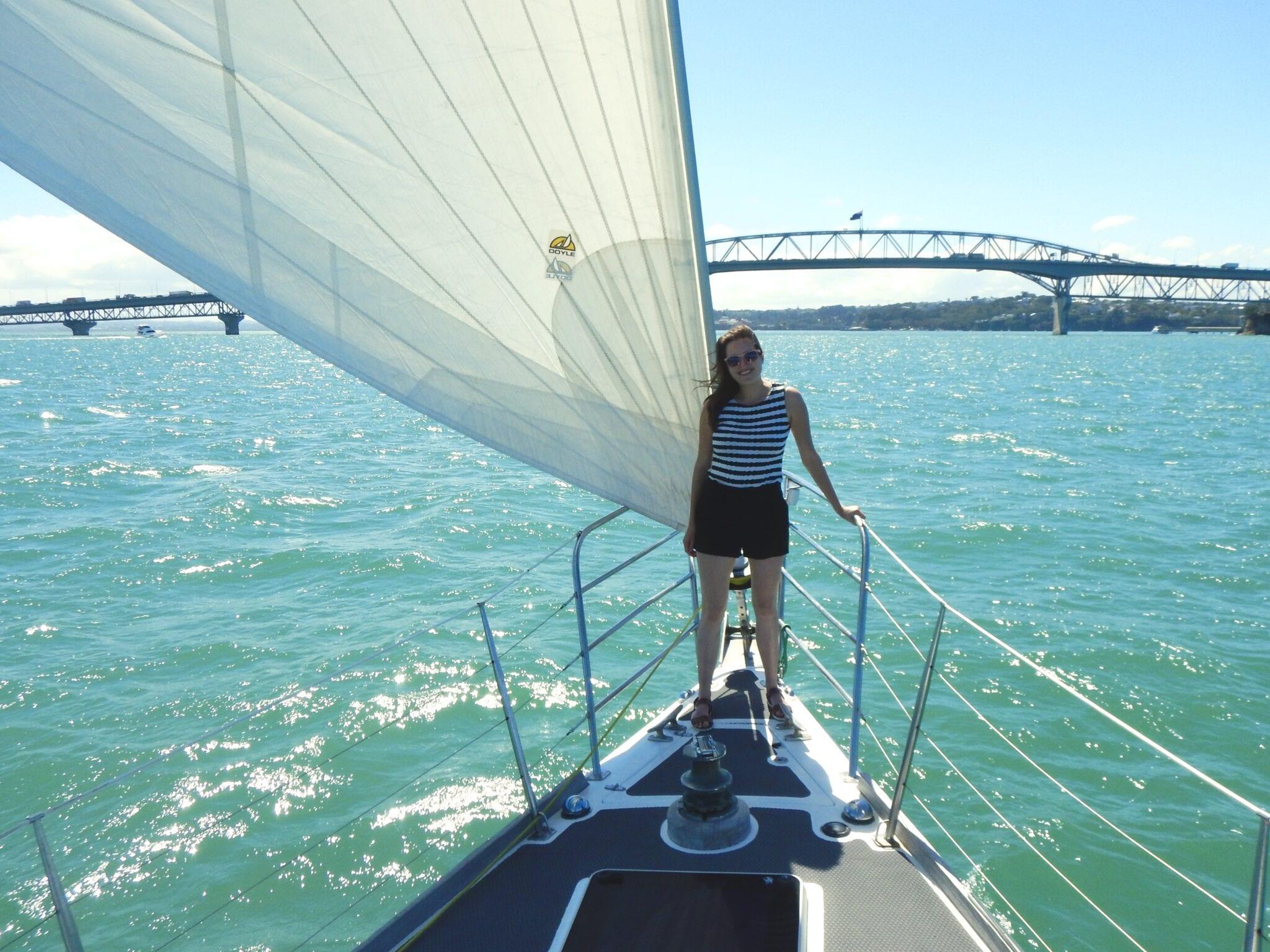 Sara van Geloven reisboek Take a Break zeilboot