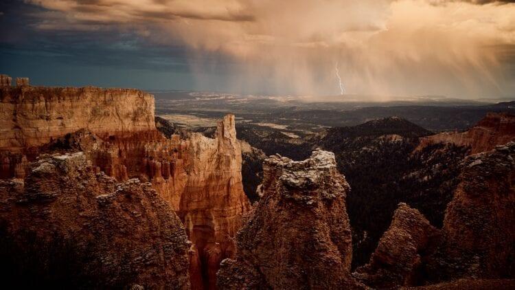 Onweer bergen