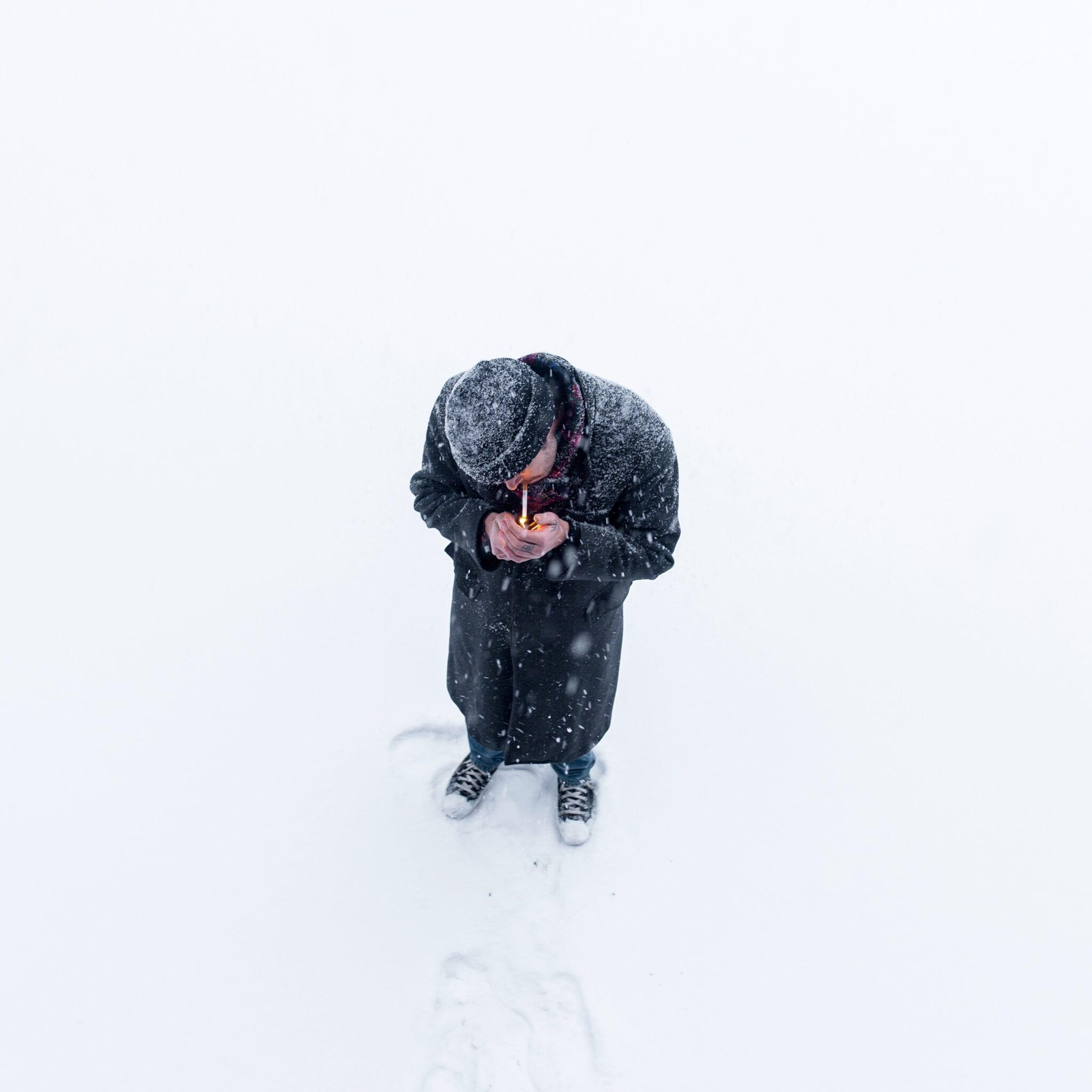 Rookverbod in Oostenrijk sneeuw