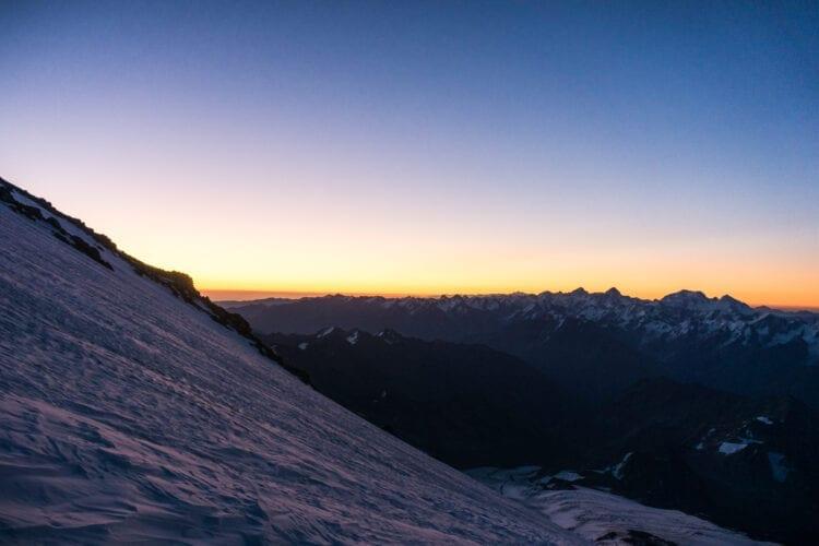 Elbrus sunrise