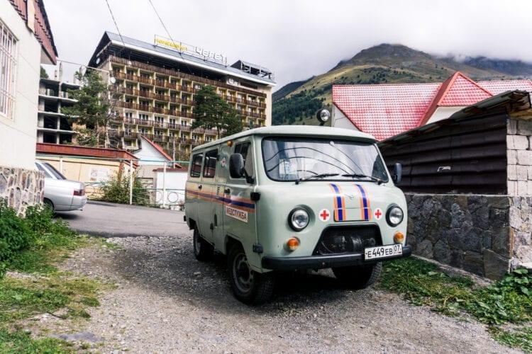 Elbrus Ambulance-visum Rusland