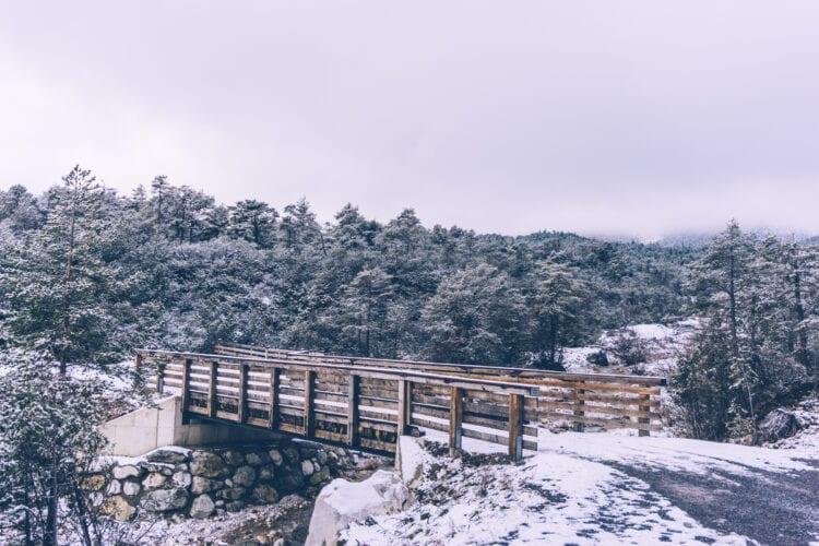 Winter-Almenroute