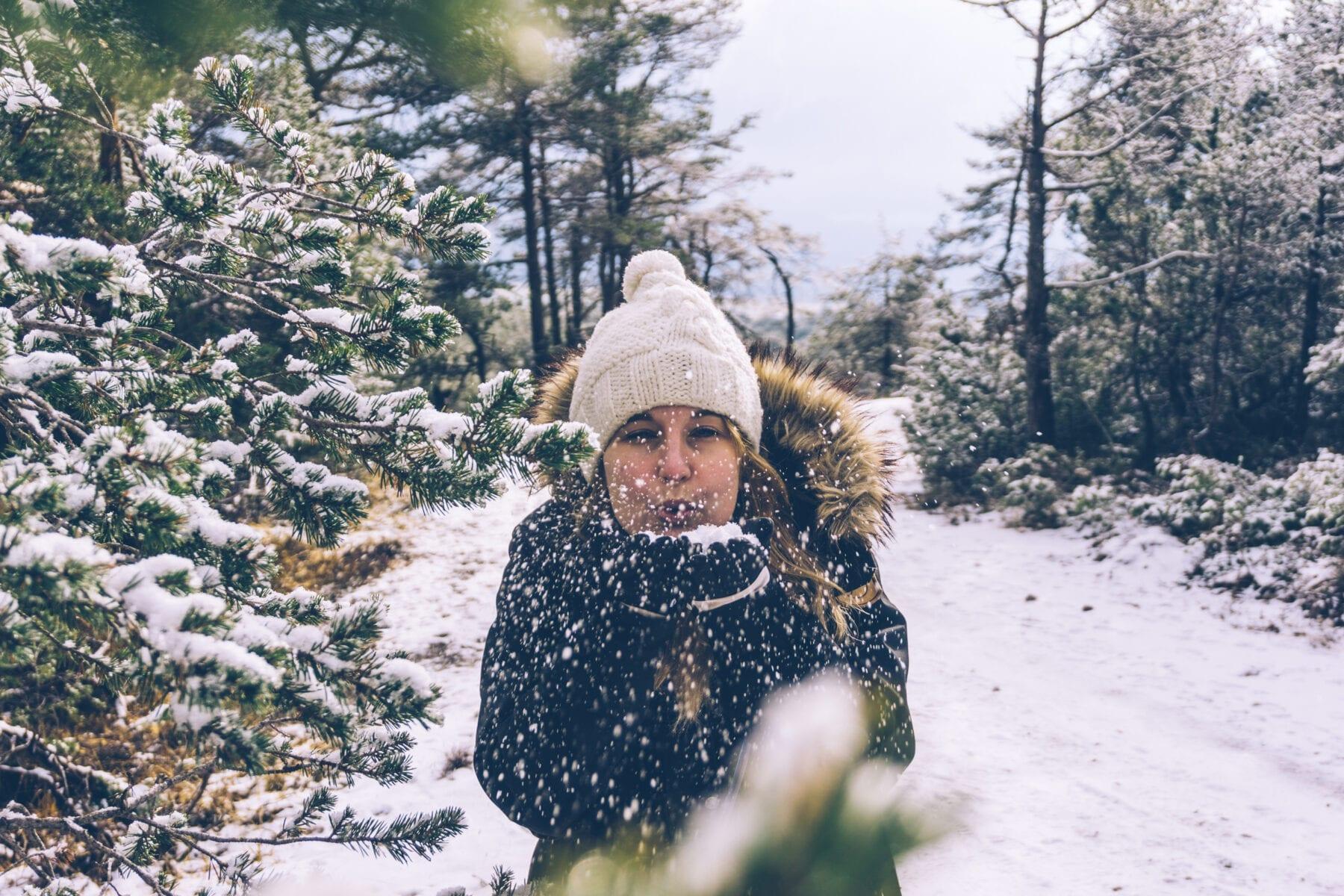 Winter-Almenroute kerstactiviteiten hiken