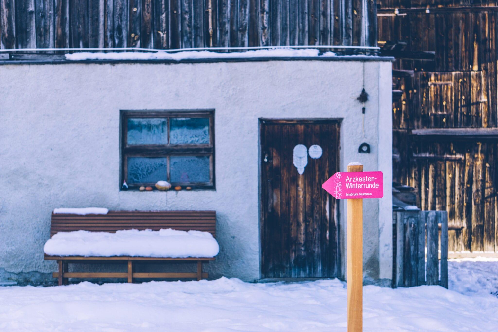 winterwandelen in oostenrijk