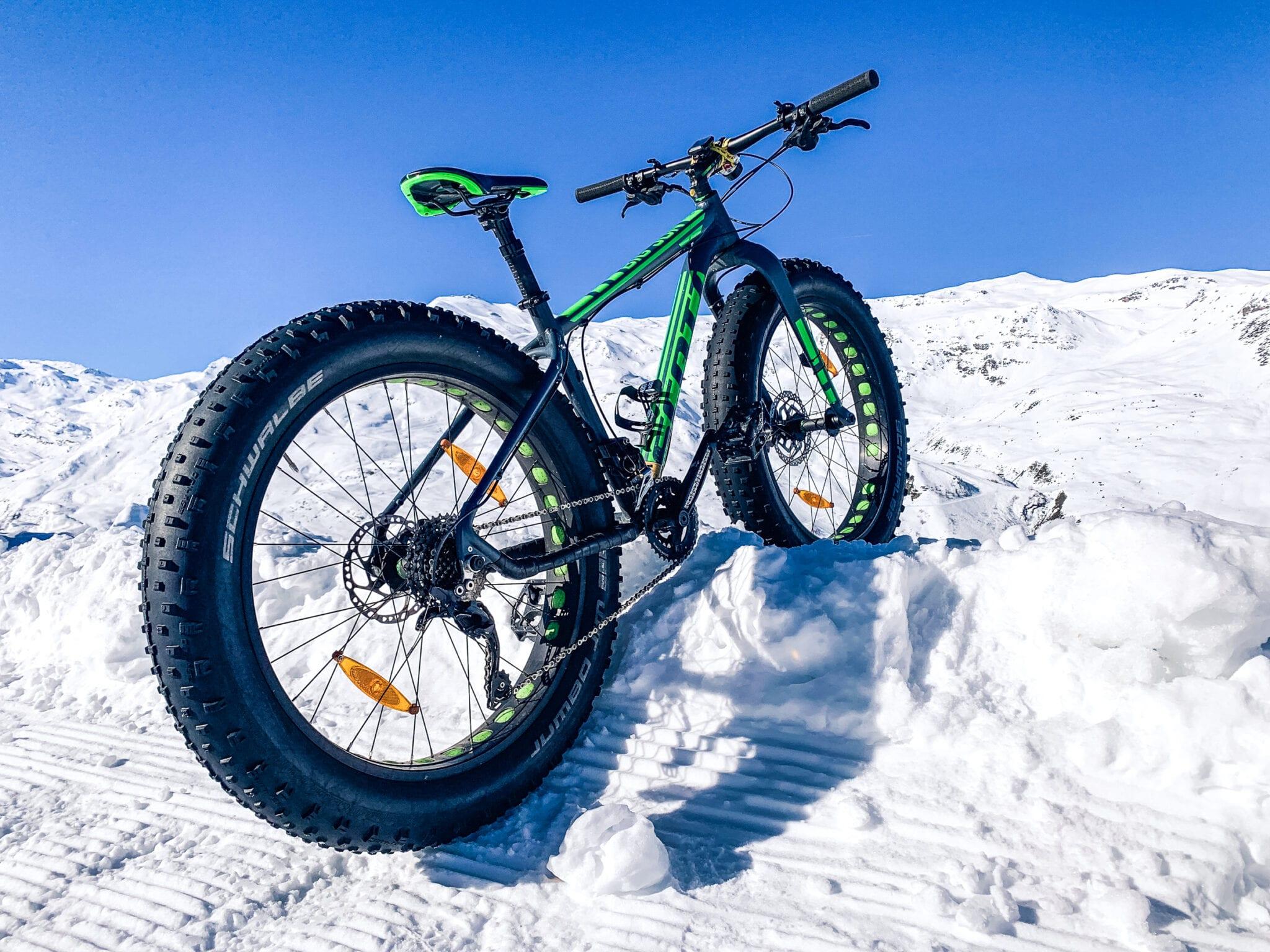 fatbiken in de sneeuw