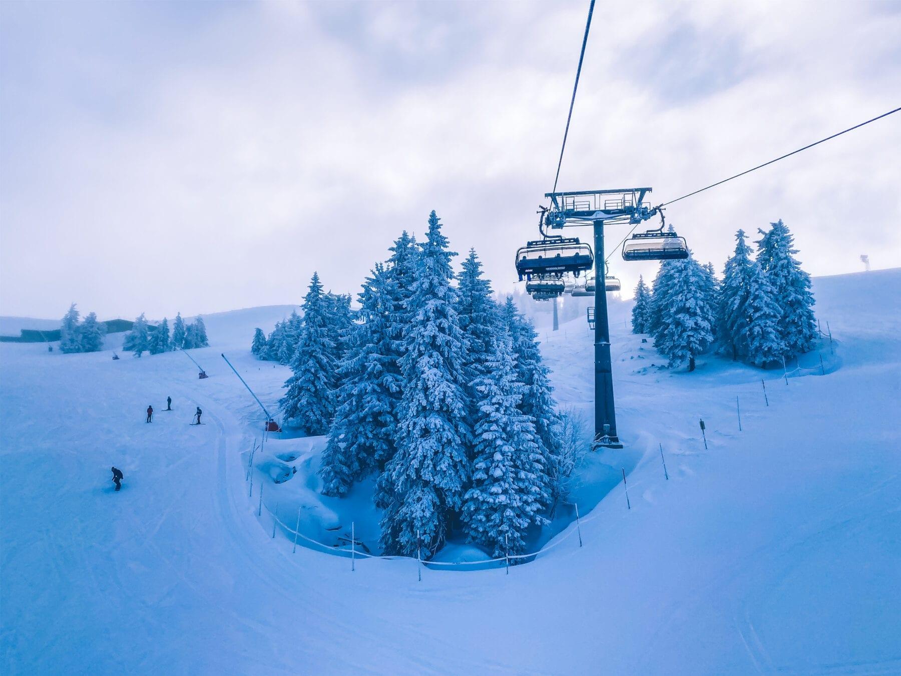 SkiWelt stoeltjeslift